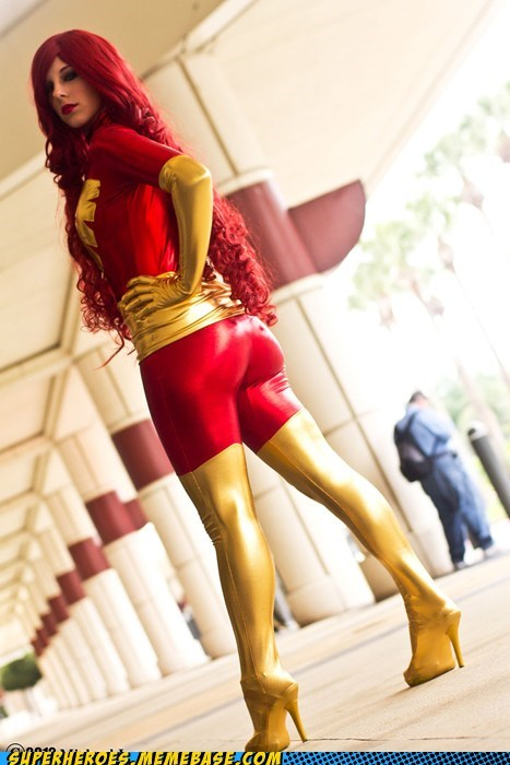 costume,dark phoenix,model,Super Costume