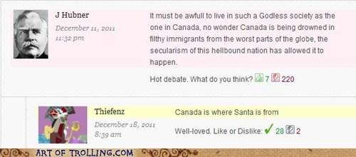 Canada,godless,santa