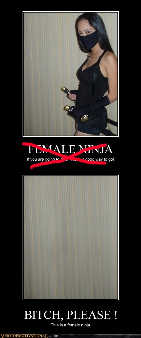 Real female ninja