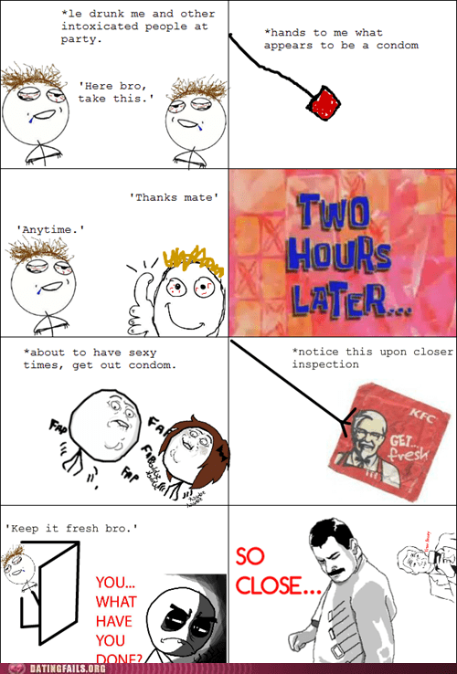 condoms friend trolled get fresh kfc - 6090250240