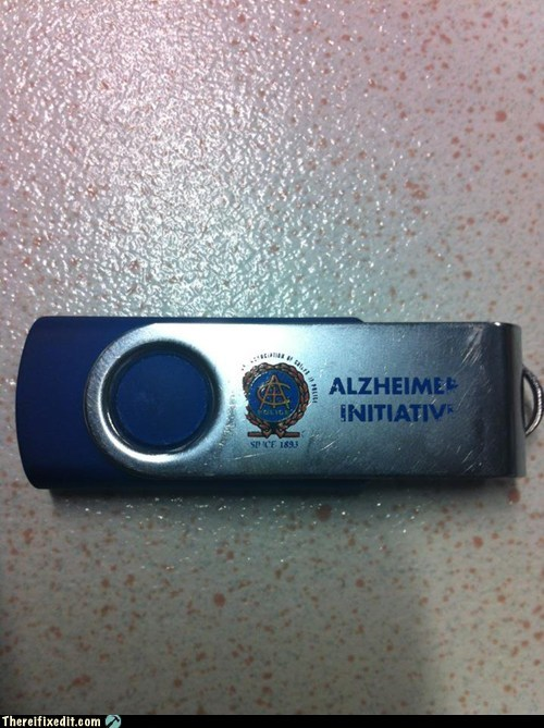 alzheimers,flash drive,thumb drive,USB