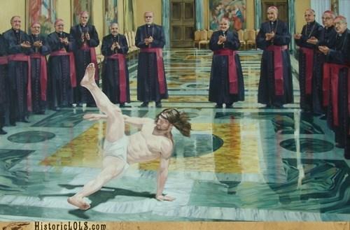 art color funny historic lols jesus religion - 6090471680