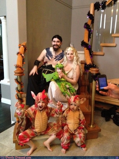 cosplay,costume,family,Game of Thrones,nerdgasm