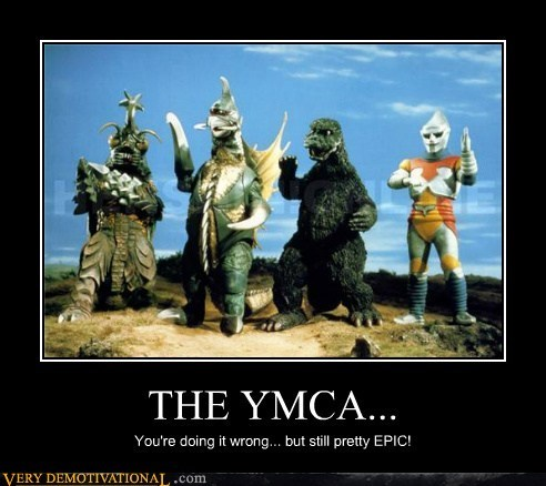 epic Japan monster Pure Awesome song ymca - 6090549248