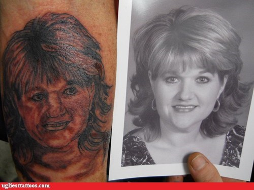 portrait tattoo tribute woman - 6090666240
