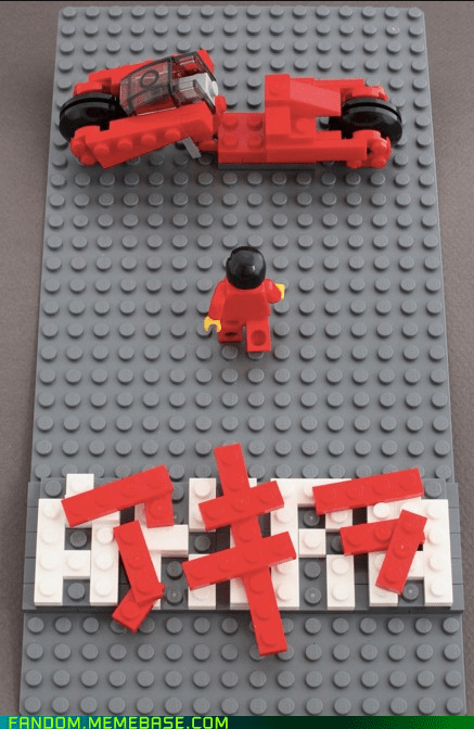 Akira anime Fan Art lego - 6090844160