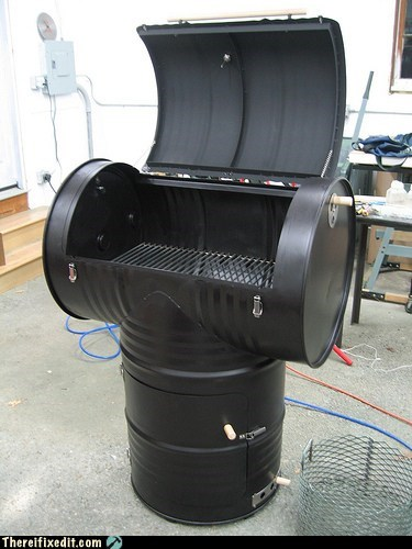 55 gallon barrel drum g rated grill there I fixed it - 6090861312