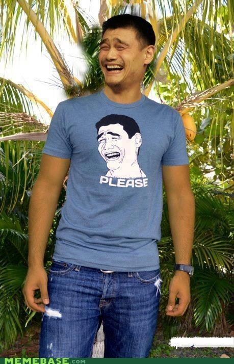 cannot unsee please srsly tshirt yao ming - 6091264000