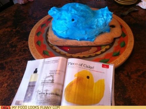 baking cake cooking Nailed It peeps recipe - 6091384576