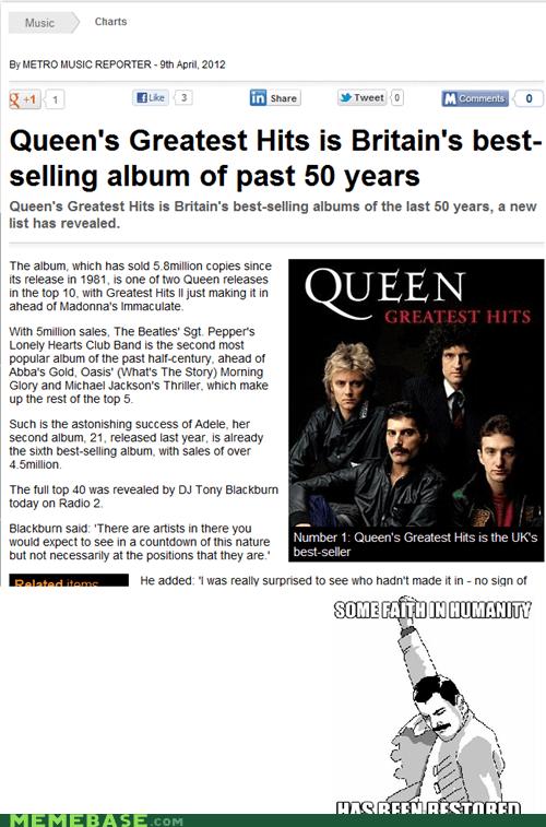 albums,freddie mercury,pride,queen,Rage Comics,reason