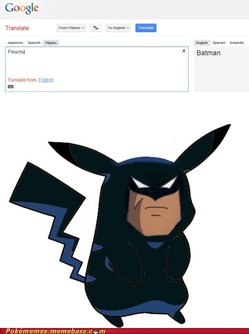 batman dafuq pikachu Pokémemes the internets translate - 6091540992