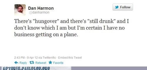 airplane dan harmon plane tweet twitter - 6091589632