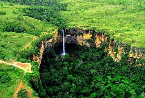 brazil Hall of Fame jungle waterfall - 6091748864