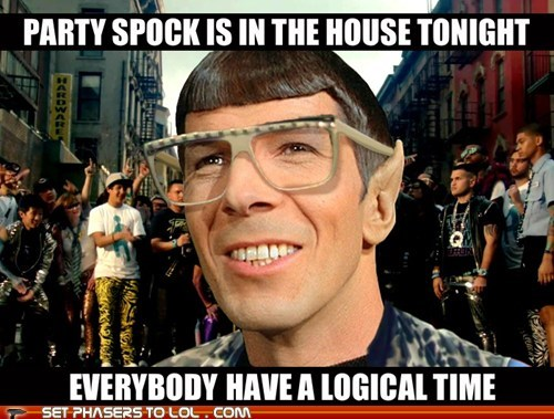 best of the week Leonard Nimoy lmfao logical Party Rock Anthem song Spock Star Trek - 6091905024