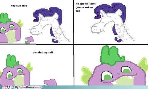dafuq dolan fak u meme my litle ponly ponified rarity spike spoke - 6092278528