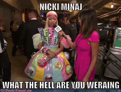 celeb colorful nicki minaj pop culture what - 6092330240