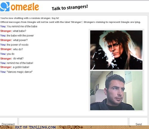 david bowie goblin king jareth labyrinth Omegle - 6092942848