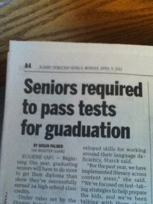 graduation graduation tests guaduation typos - 6093068288
