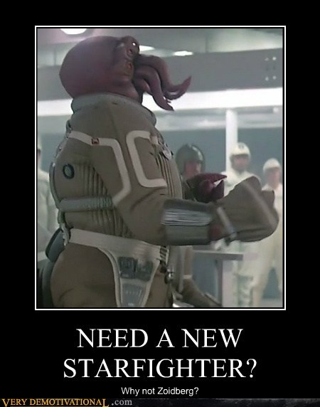 NEED A NEW STARFIGHTER? Why not Zoidberg?