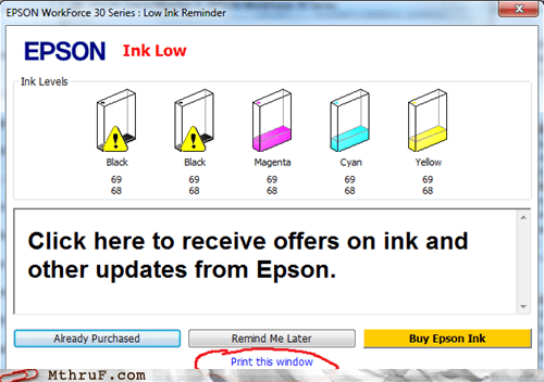 cartridge epson ink printer - 6094537984