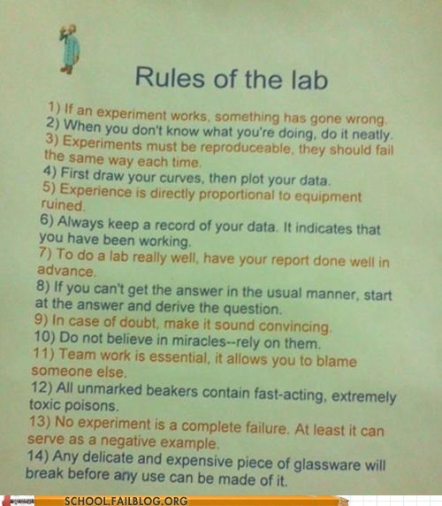 dont-talk-about-lab lab science rules of the lab - 6094729216