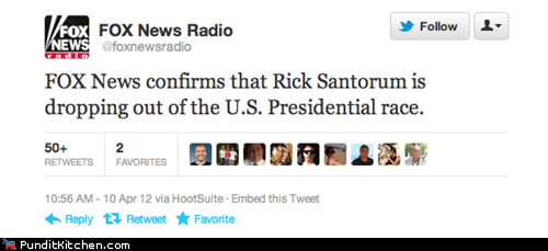 fox news Rick Santorum twitter