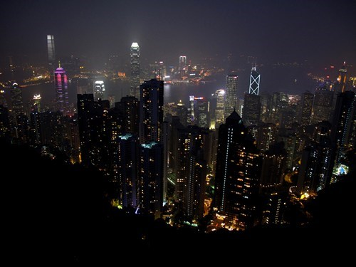 China,city,downtown,hong kong
