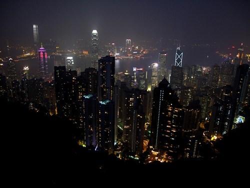 China city downtown hong kong - 6094917120