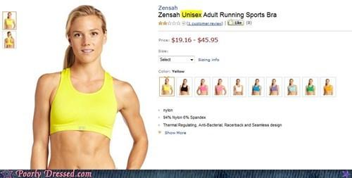 bra retail sports bra unisex whoops - 6094943744