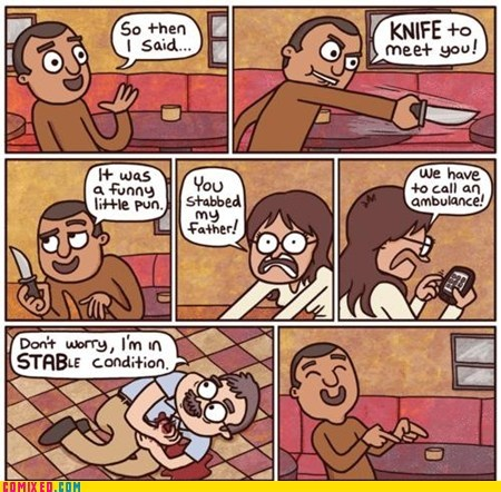 knife,point,pun,stab,the internets