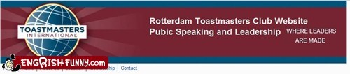 pubic speaking,public speaking,Rotterdam,toastmasters