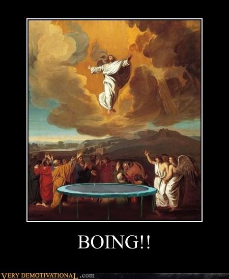 bounce hilarious jesus trampoline - 6095014912