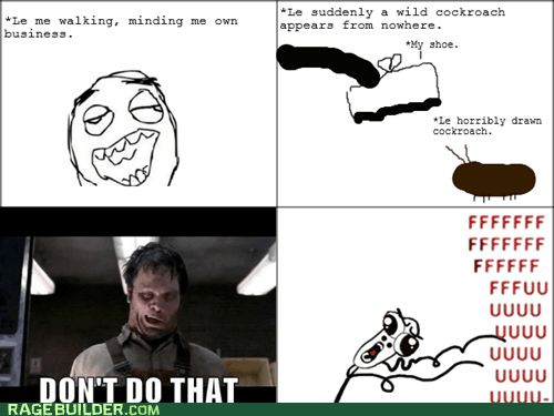 bobby joe will hate the last panel cockroach MIB omg run Rage Comics - 6095020032