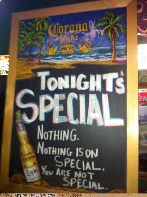 beer,IRL,not special,special