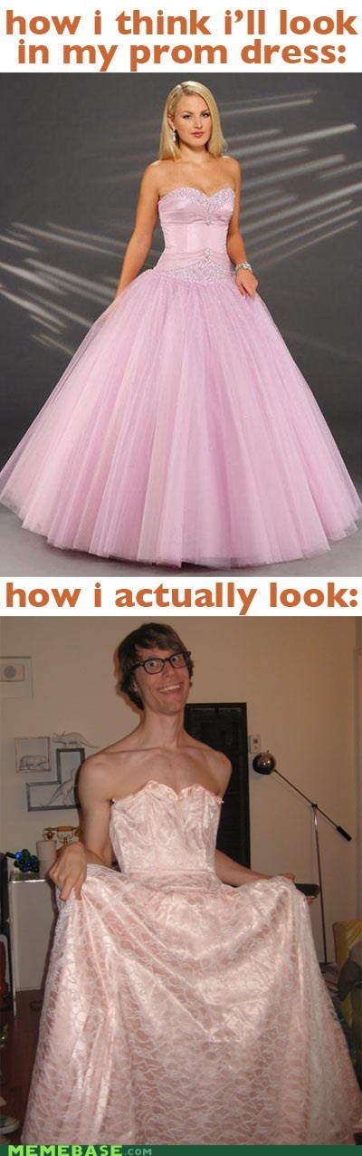 gross How People View Me man prom dress virginity