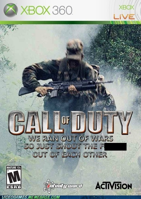 activision call of duty new game the internets the same thing video games - 6095322112