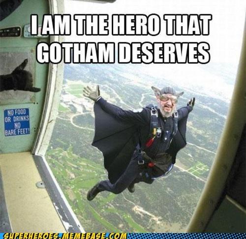 batman flying suit Super-Lols wile e coyote - 6095349504
