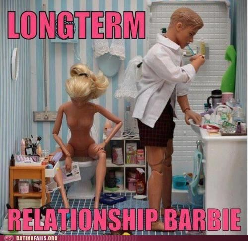 Barbie,dating fails,longterm relationship,too comfortable