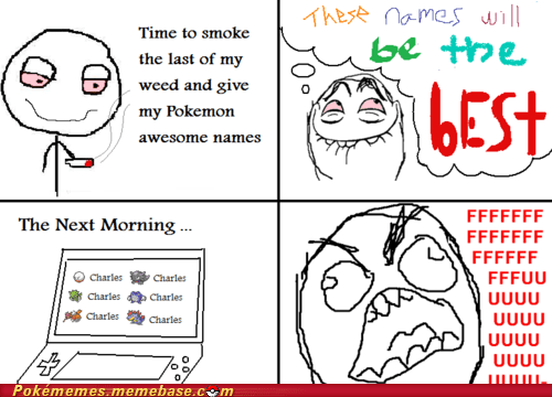 charles Pokémon rage comic Rage Comics the best weed - 6095732992