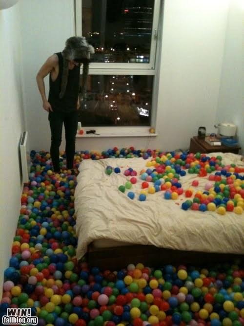 ball pit,playground,prank,whee