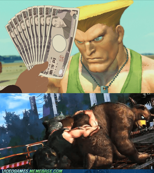 awesome,bear,comic,gross,Guile,Street fighter