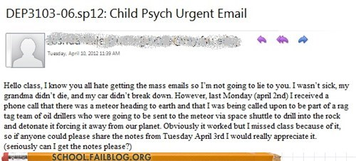 Armageddon honesty urgent email - 6095876608