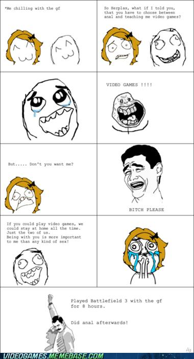 Battlefield 3 couple girlfriend rage comic - 6095920896