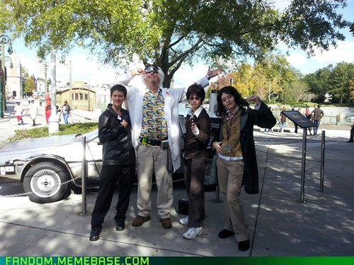 back to the future cosplay Doc Brown doctor who movies TV - 6096062464