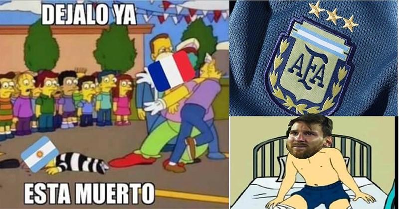 memes rusia 2018 argentina francia