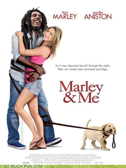 bob marley double meaning literalism marley and me Movie title