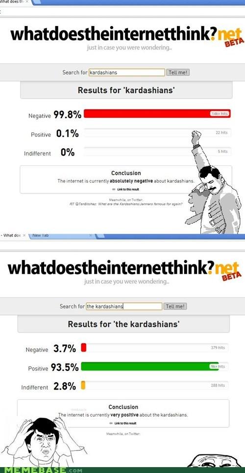 beta kardashians meta negative positive troll face what