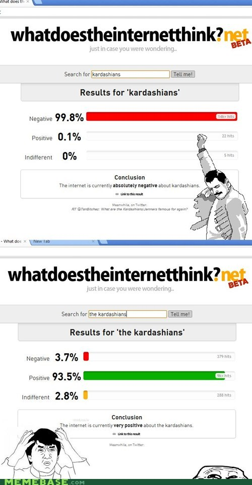 beta kardashians meta negative positive troll face what - 6097157376