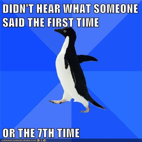 Awkward laughter seventh socially awkward penguin what - 6097216000