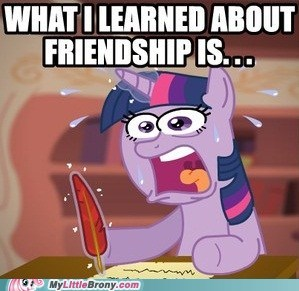 extra credit friendship letter meme twilight sparkle - 6097359360